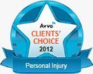 Avvo Clients Choice 2012 - Personal Injury