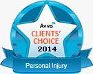Avvo Clients Choice 2014 - Personal Injury